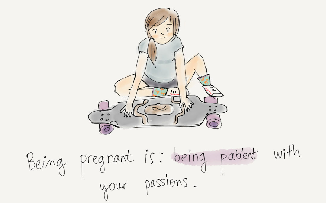 Being pregnant is…being patient