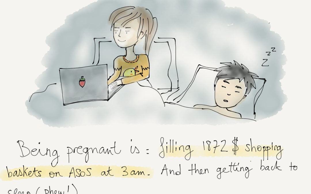 Being pregnant is…insomnia