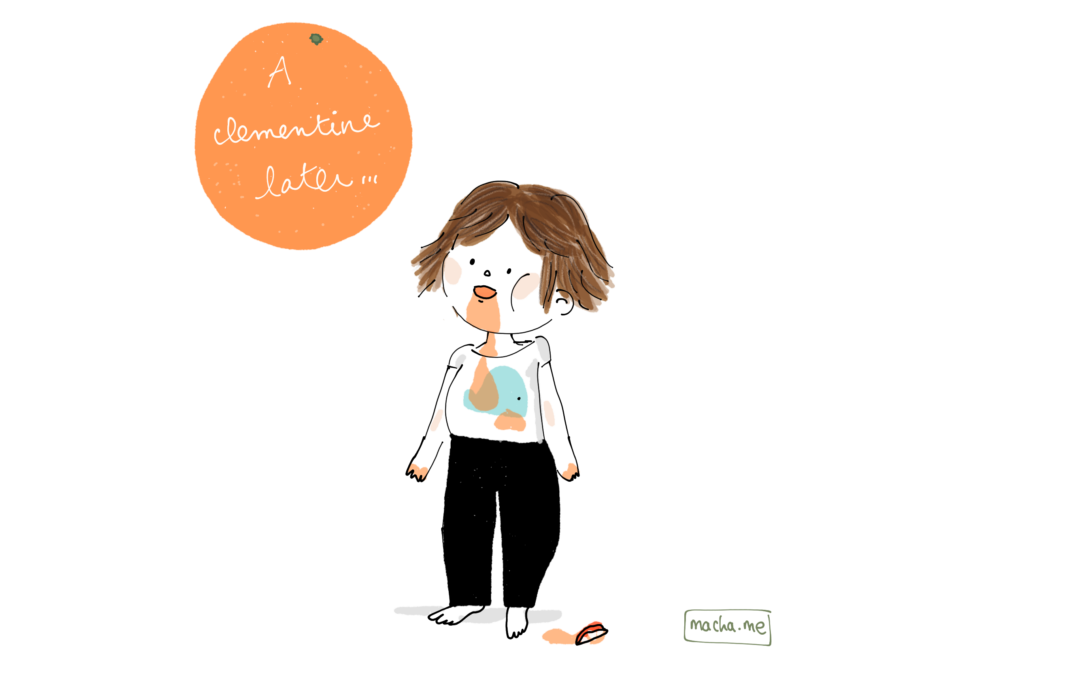 Clementine mess