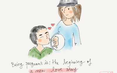 Being pregnant is…a new love story