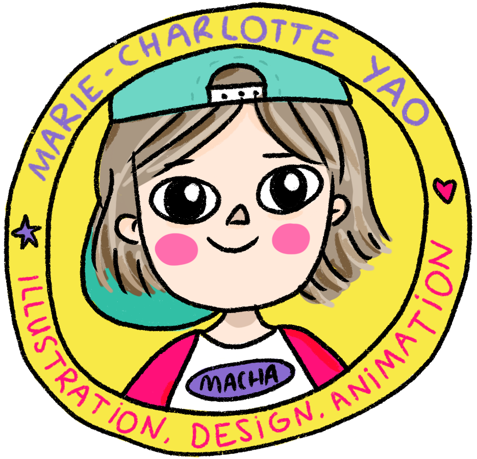 Marie-Charlotte Yao illustrations and design