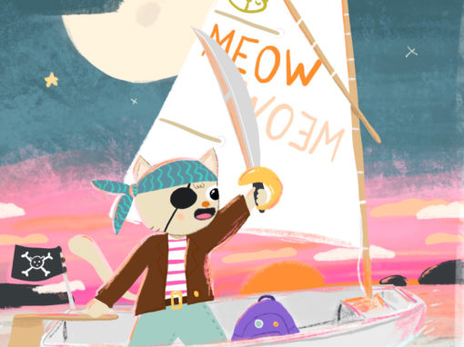 The colourful adventures of Cat, Blue Rabbit and Mr. Fox